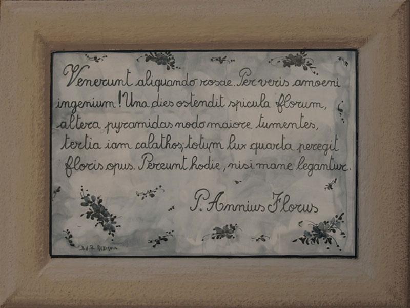 epigramma annius florus